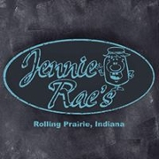 This is the restaurant logo for Jennie Rae's Restaurant
