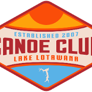 This is the restaurant logo for Canoe Club