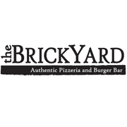 This is the restaurant logo for The BrickYard