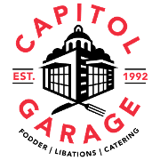 This is the restaurant logo for Capitol Garage