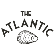 This is the restaurant logo for The Atlantic