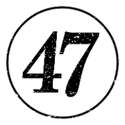 This is the restaurant logo for Prime 47 Indy's Steakhouse