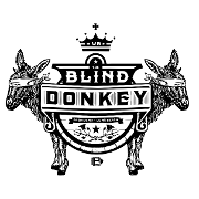 This is the restaurant logo for The Blind Donkey Pasadena