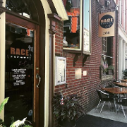 This is the restaurant logo for Race Street Cafe