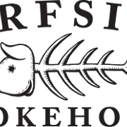 This is the restaurant logo for Surfside Smokehouse