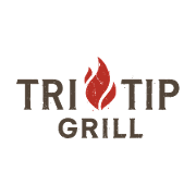 This is the restaurant logo for Tri Tip Grill