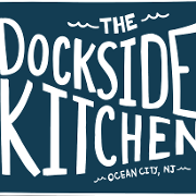 This is the restaurant logo for Dockside Kitchen