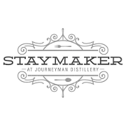 This is the restaurant logo for Staymaker Restaurant