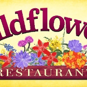 This is the restaurant logo for Wildflower's Restaurant