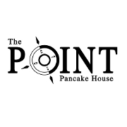 This is the restaurant logo for The Point Pancake House