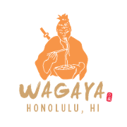 This is the restaurant logo for Wagaya