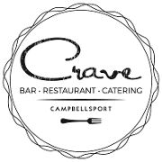 This is the restaurant logo for Crave