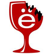 This is the restaurant logo for Broken Goblet