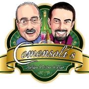 This is the restaurant logo for Comensoli's Italian Bistro