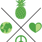 This is the restaurant logo for Bona Fide Juicery