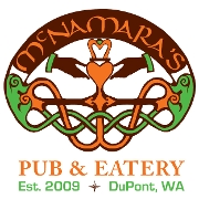 This is the restaurant logo for McNamara's Pub & Eatery