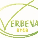 This is the restaurant logo for Verbena BYOB