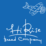 This is the restaurant logo for Hi Rise Bread Company