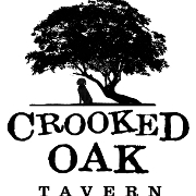 This is the restaurant logo for Crooked Oak Tavern