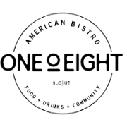 This is the restaurant logo for one0eight