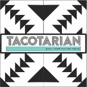 This is the restaurant logo for Tacotarian