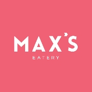This is the restaurant logo for Max's Eatery