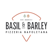 This is the restaurant logo for Basil and Barley