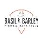 Restaurant logo for Basil and Barley