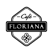 This is the restaurant logo for Cafe Floriana