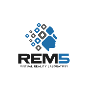 This is the restaurant logo for REM5 Virtual Reality Laboratory