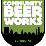 This is the restaurant logo for Community Beer Works