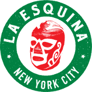 This is the restaurant logo for La Esquina - SoHo