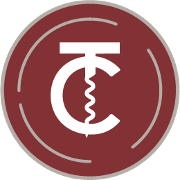 This is the restaurant logo for Cork + Table Kitchen and Bar