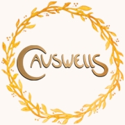 This is the restaurant logo for Causwells