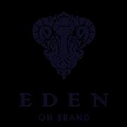 This is the restaurant logo for Eden on Brand