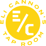 This is the restaurant logo for Eli Cannons Tap Room