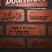 This is the restaurant logo for Pourhouse Bar and Grill