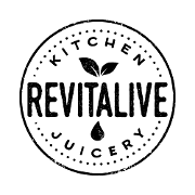 This is the restaurant logo for Revitalive