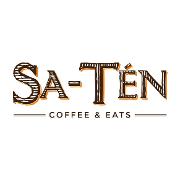 This is the restaurant logo for Sa-Tén Coffee & Eats