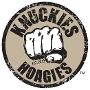 Restaurant logo for Knuckie's Gourment Hoagies