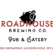 This is the restaurant logo for Roadhouse Pub and Eatery