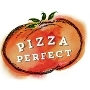 This is the restaurant logo for Pizza Perfect