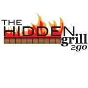 This is the restaurant logo for The Hidden Grill:  Where everything is made from scratch