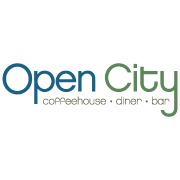This is the restaurant logo for Open City