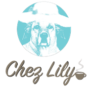 This is the restaurant logo for Chez Lily Coffee Shop