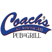 This is the restaurant logo for Coach's Pub & Grill