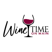 This is the restaurant logo for Winetime On Main