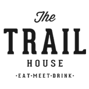 This is the restaurant logo for The Trail House
