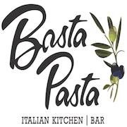 This is the restaurant logo for Basta Pasta