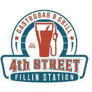 This is the restaurant logo for 4th Street Fillin Station
